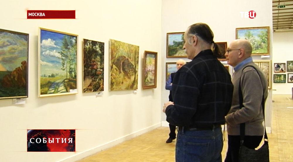 """Международная выставка """"Российская неделя искусств"""" в Москве"""