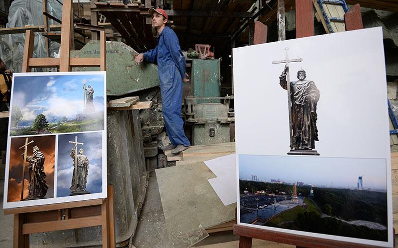 Изображения памятника князю Владимиру