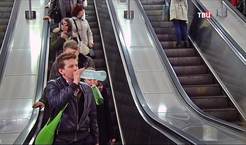 Флешмоб в метро