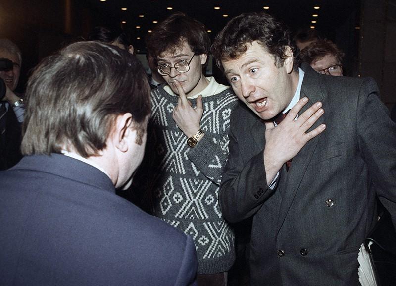 Владимир Жириновский на съезде народных депутатов