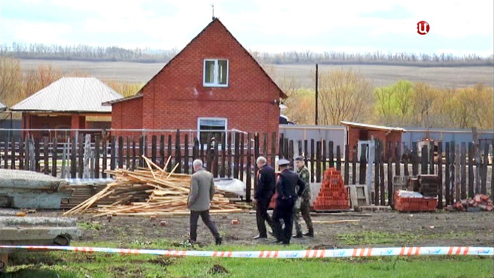 Место убийства экс-главы МВД Сызрани и его семьи