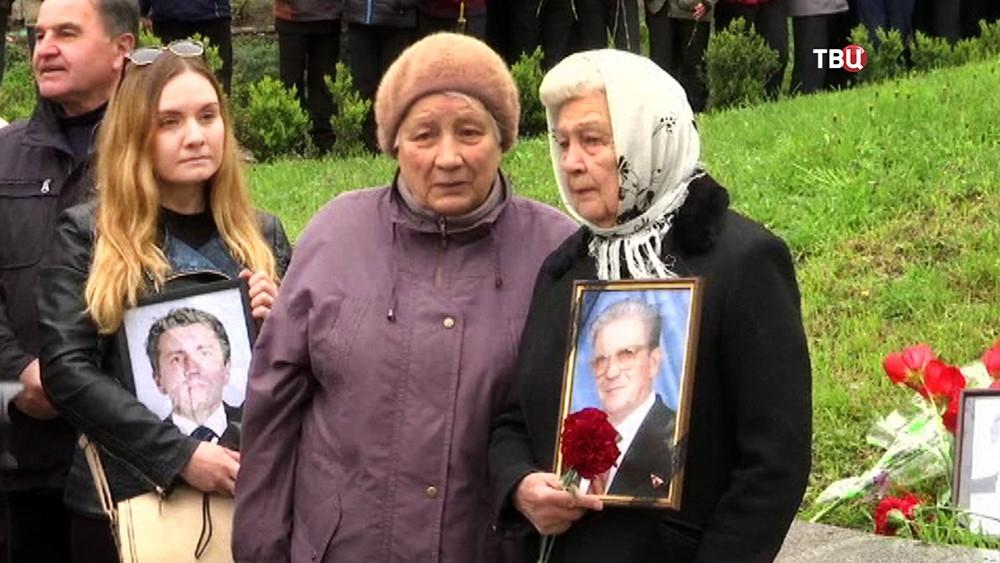 Вдовы ликвидаторов последствий аварии на Чернобыльской АЭС