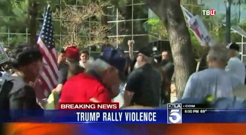 Акция протеста в США