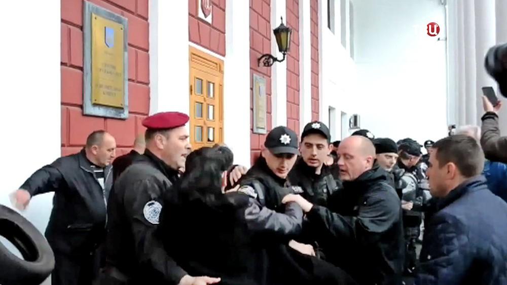 Беспорядки в Одессе