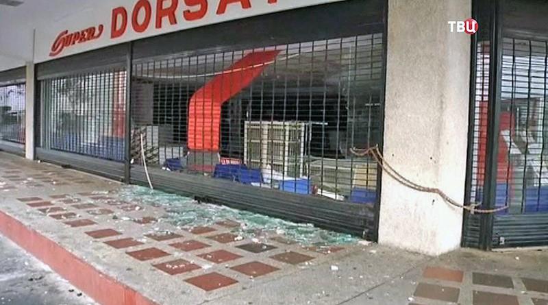 Последствия беспорядка в Венесуэле