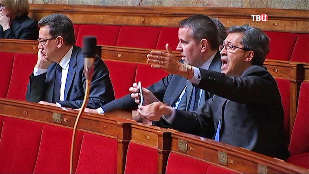 Депутаты парламента Франции