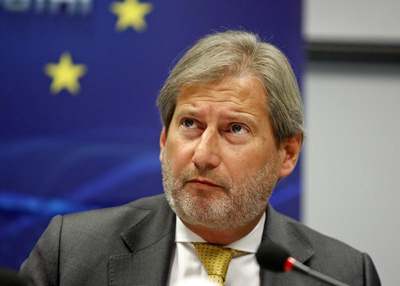 Представитель ЕС по вопросам расширения Йоханнес Хан