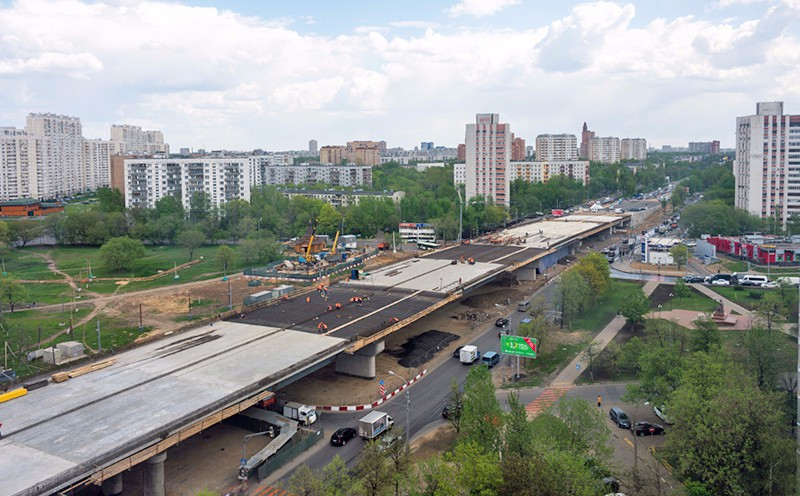 Строительство Волгоградского шоссе