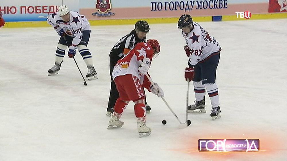 Товарищеский матч между командами столичной полиции и правительства Москвы