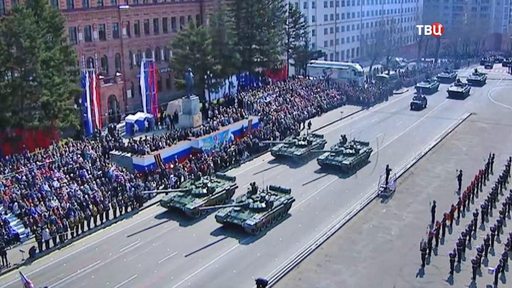 Парад Победы во Владивостоке