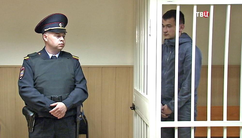 Обвиняемый в убийстве байкеров Илья Асеев