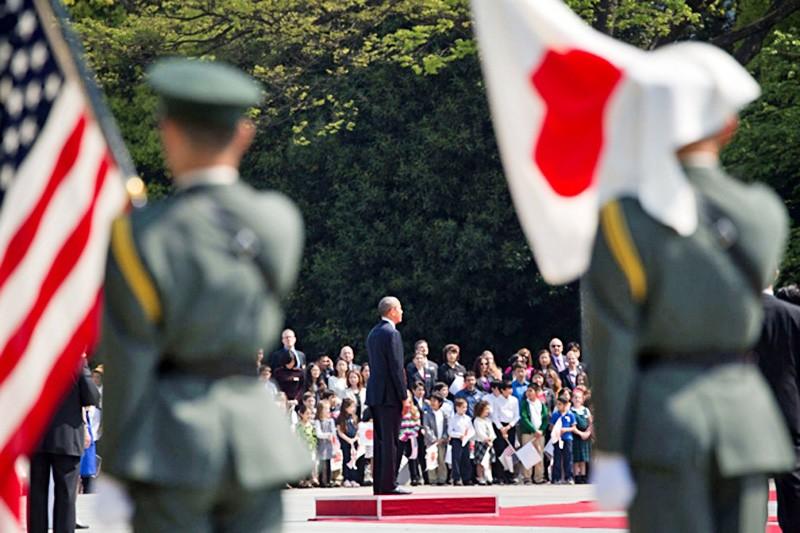 Визит президента США Барака Обамы в Японию