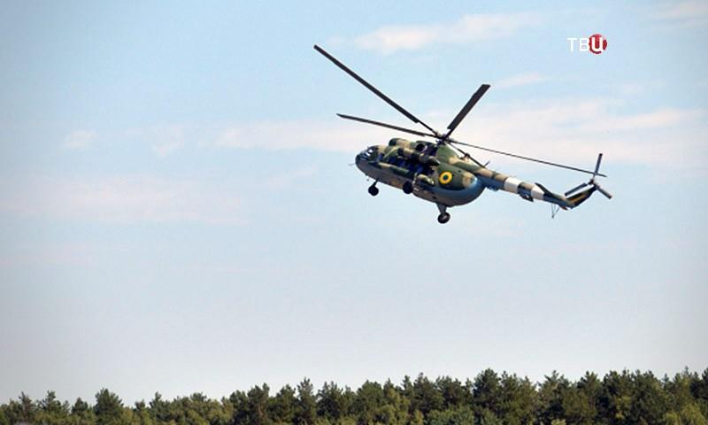 Вертолет Ми-8 украинских ВВС