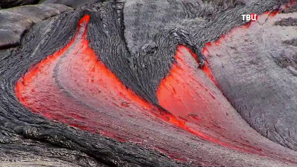 Вулканическая лава