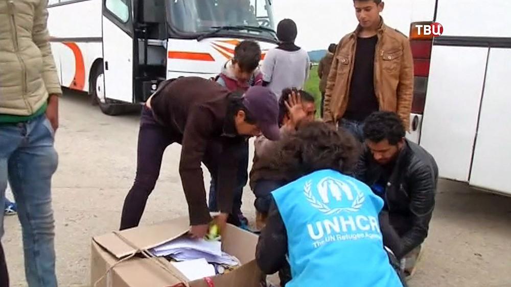 Гуманитарная помощь беженцам
