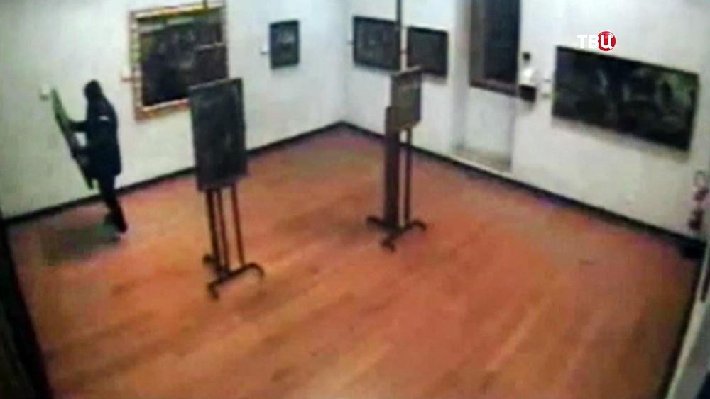 Похищение картин из музея в Вероне