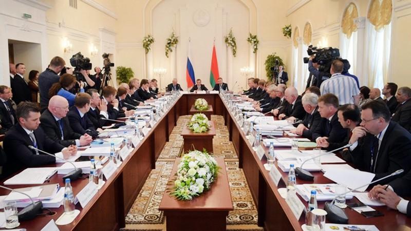 Заседания Совета министров Союзного государства России и Белоруссии