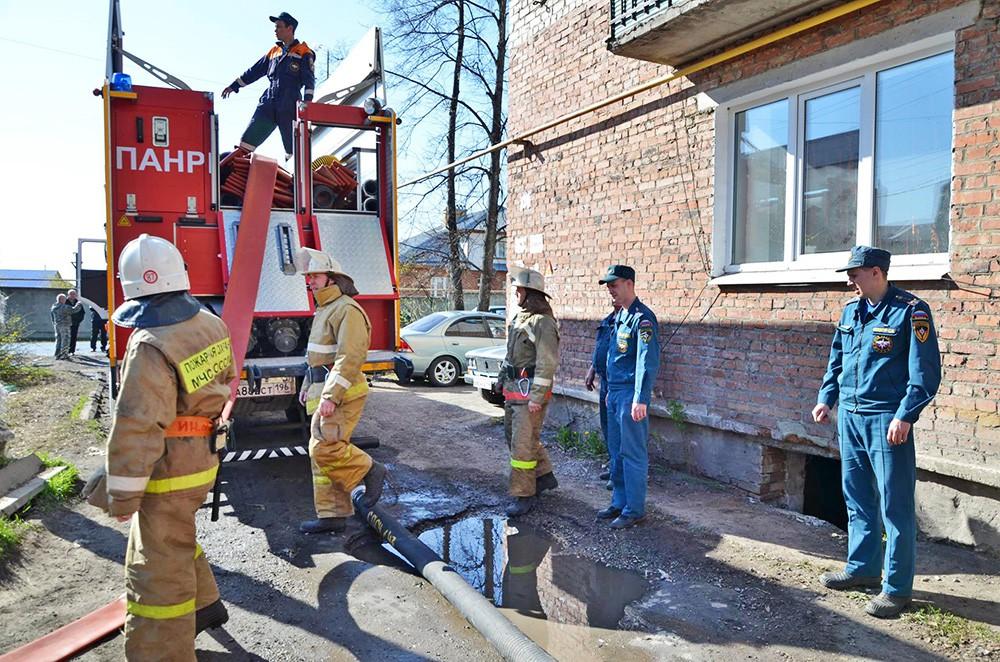 Спасатели в Свердловской области
