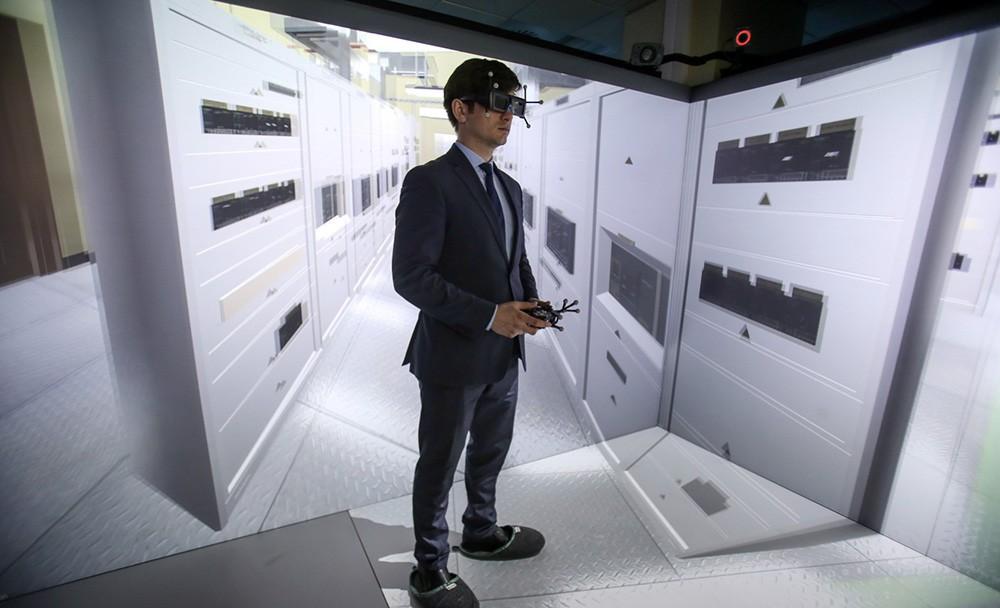 Демо-зал виртуальной реальности