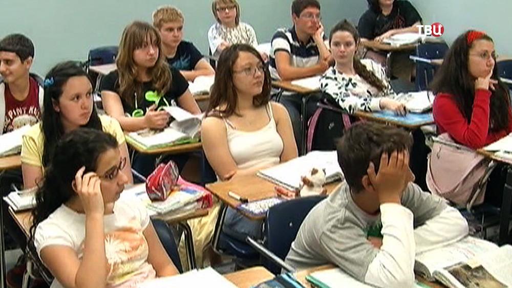 Школьники США