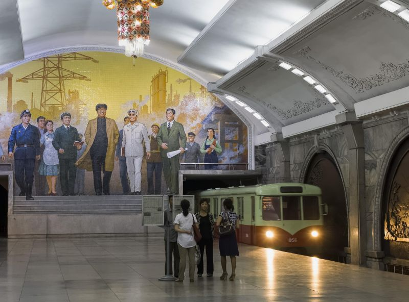 Метро в Пхеньяне