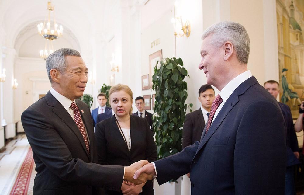 Встреча с премьер-министром Сингапура Ли Сянь Луном
