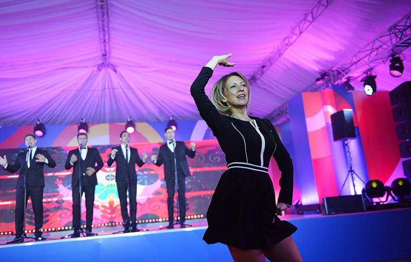 Мария Захарова на торжественном вечере для представителей СМИ в рамках саммита Россия — АСЕАН в Сочи