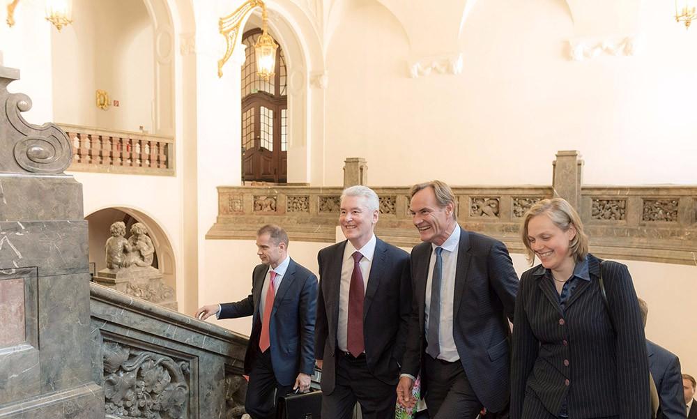 Рабочая поездка мэра Москвы Сергея Собянина в Лейпциг, Германия