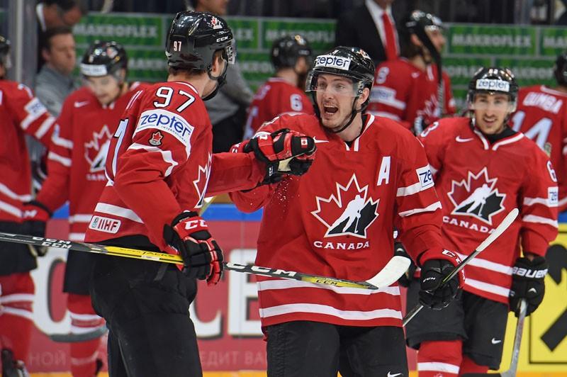 Чемпионат мира по хоккею. Матч Канада - Финляндия