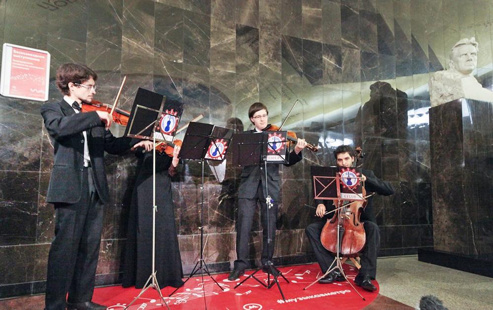 Проект «Музыка в метро» подробнее расскажет о своих участниках