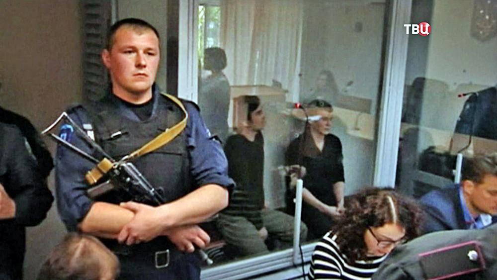 Евгений Ерофеев и Александр Александров в суде