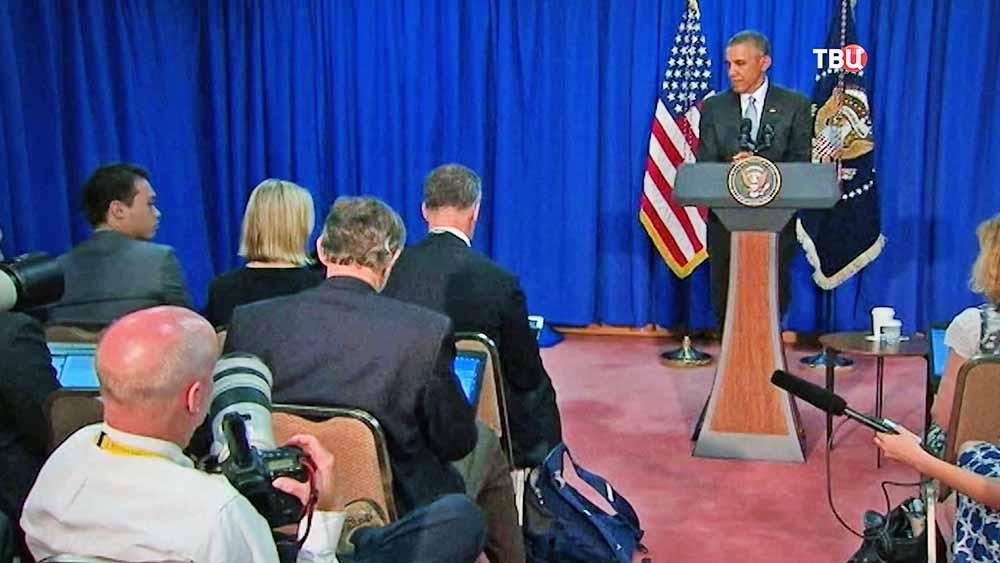 Пресс-конференция Барака Обамы