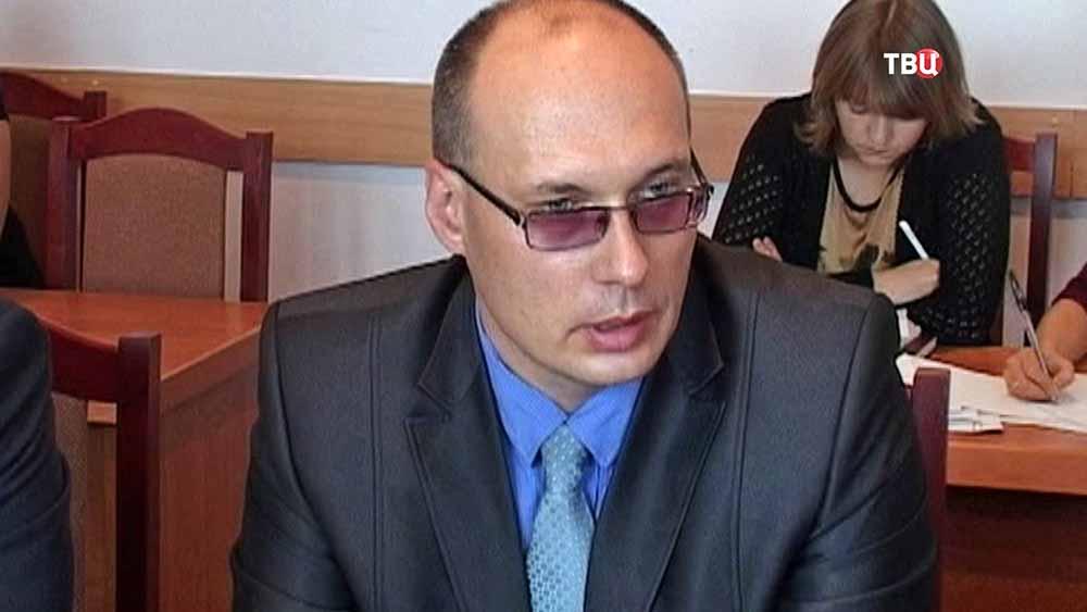 Вице-мэр Великого Новгорода Вадим Фадеев