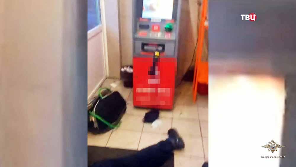 Задержание грабителей банкоматов