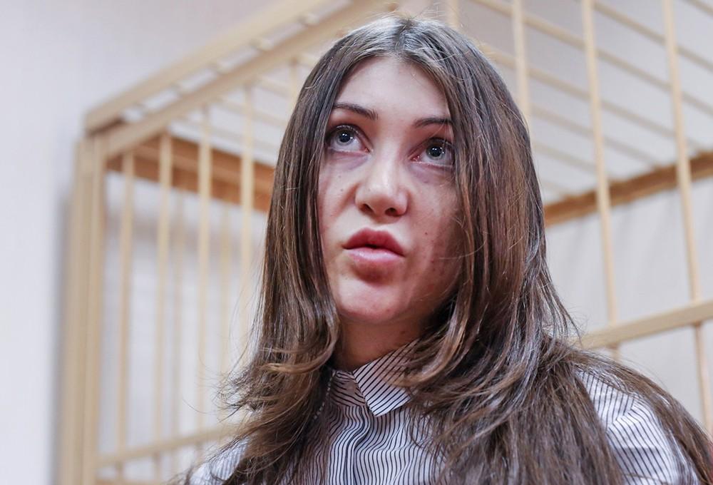 Участница гонок с полицией Мара Багдасарян в суде