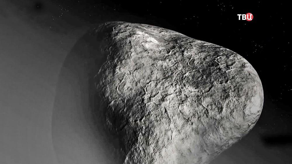Поверхность кометы