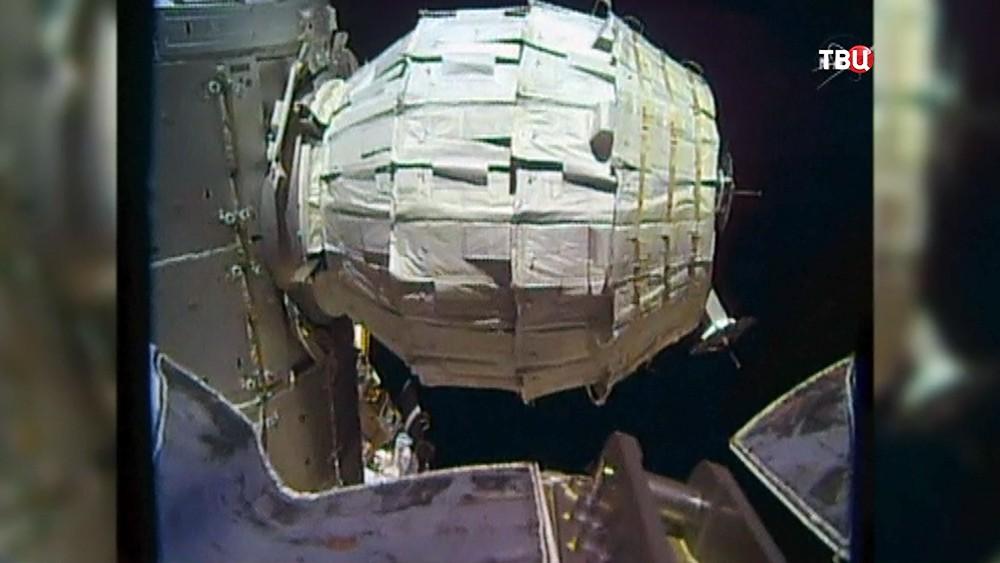 Надувной мобильный модуль на МКС