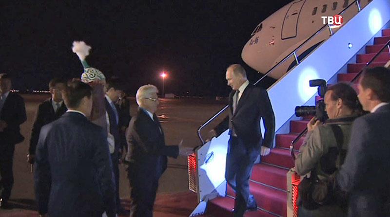 Владимир Путин в Астане