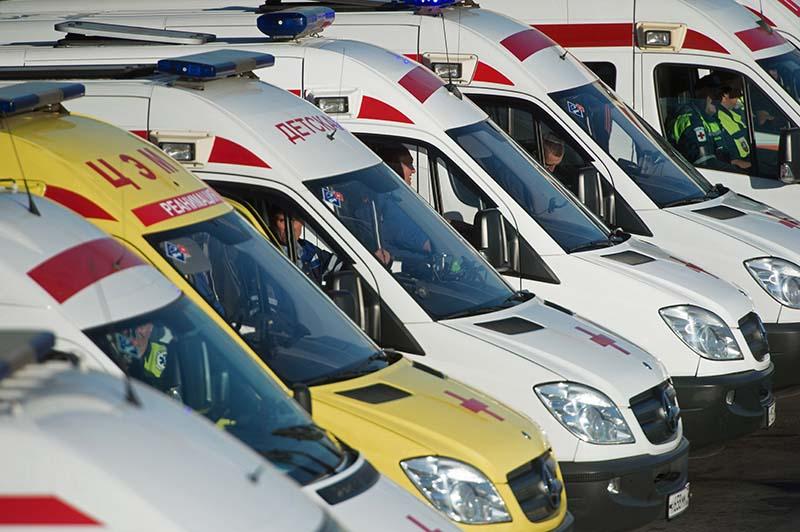 Автомобили служб скорой помощи