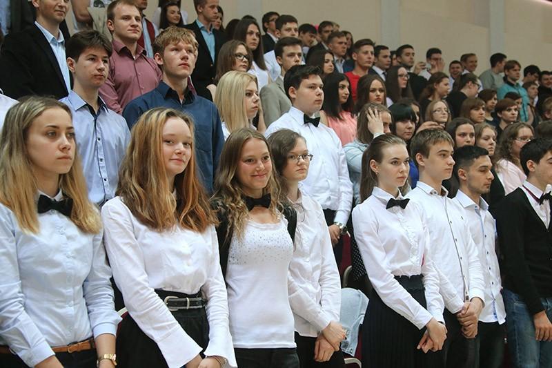 Студенты Московского государственного института международных отношений