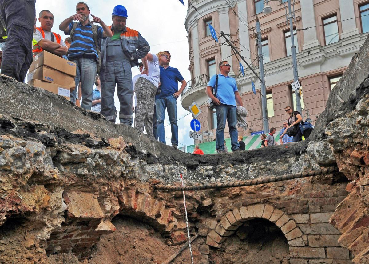 Реконструкция улицы Тверская