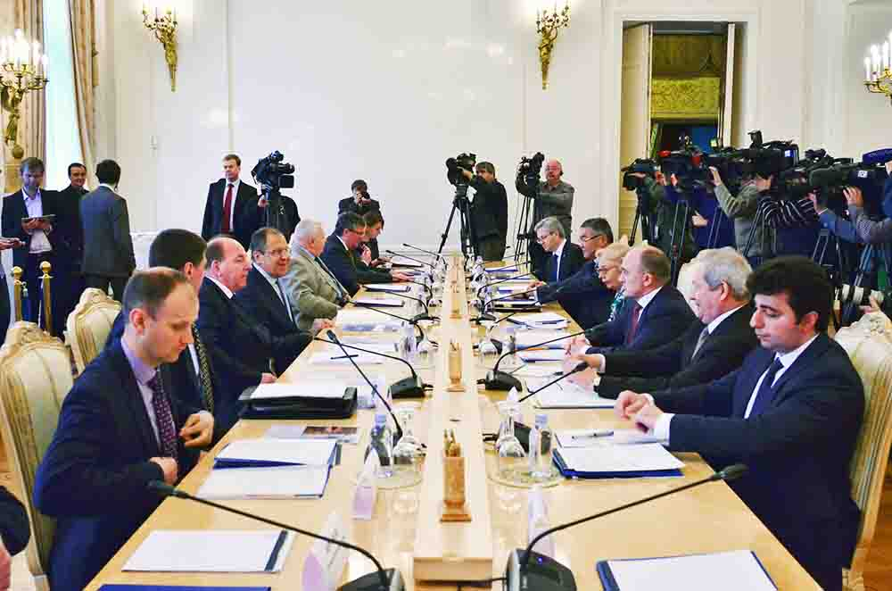 Заседание Совета глав субъектов Российской Федерации при МИД России