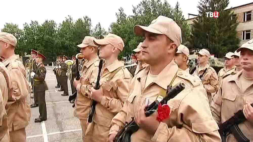 Награждение Российских саперов за разминирование в Сирии