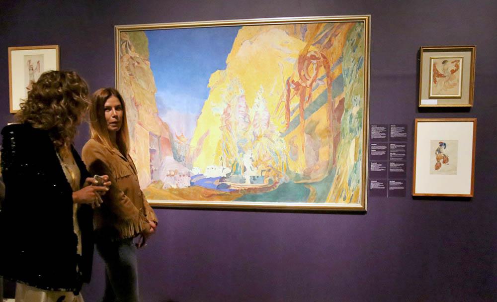 Выставка художника Льва Бакста в ГМИИ им. А.Пушкина