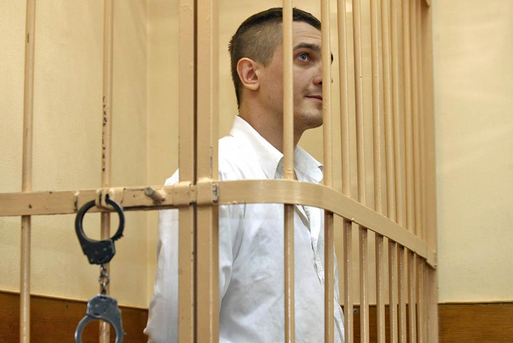 """Антон Рыжов, подозреваемый в угоне автомобиля """"Чайка"""""""