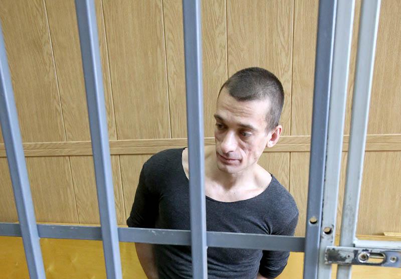 Пётр Павленский в суде