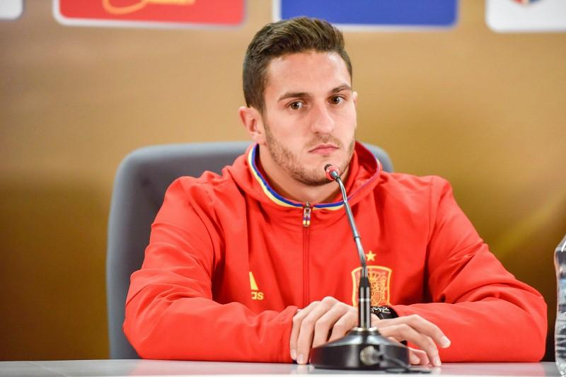 """Полузащитник """"Атлетико"""" и сборной Испании Коке. 24 года. 50 миллионов евро."""