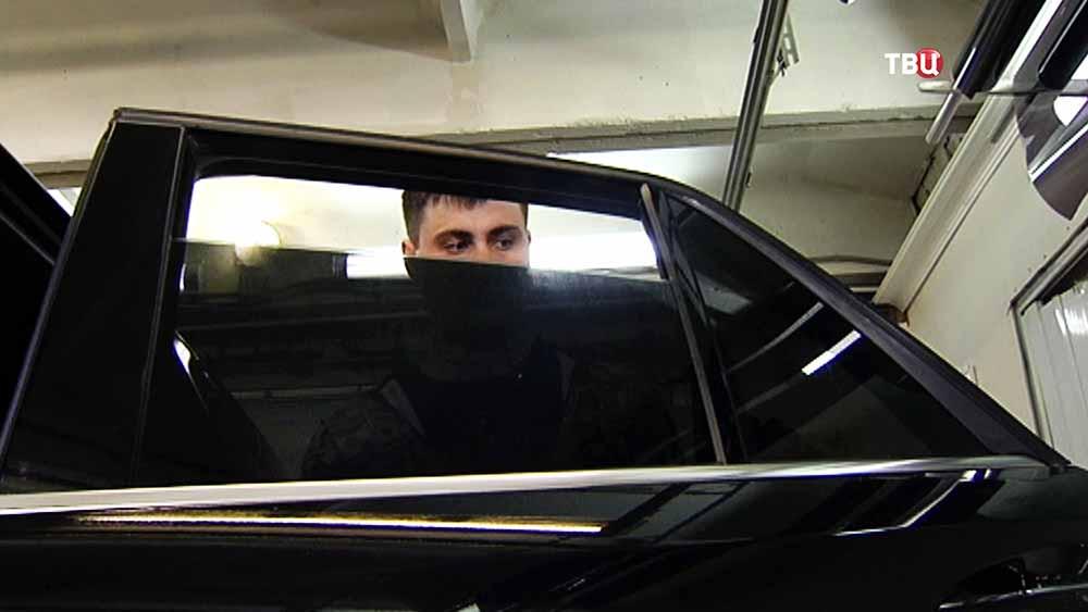 Незаконная тонировка автомобиля