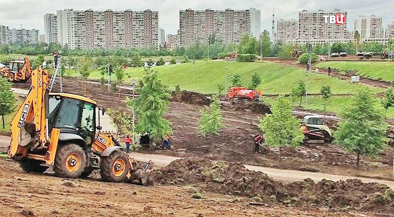 Благоустройство Братеевского парка