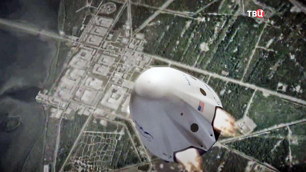 Приземление корабля SpaceX